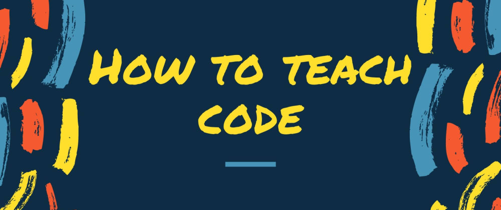 Cover image for How to Teach Code