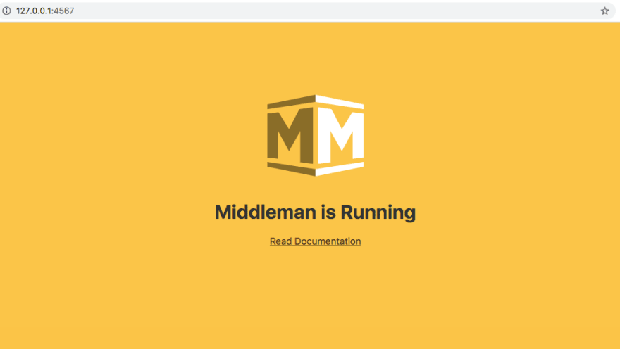 Middleman Homepage