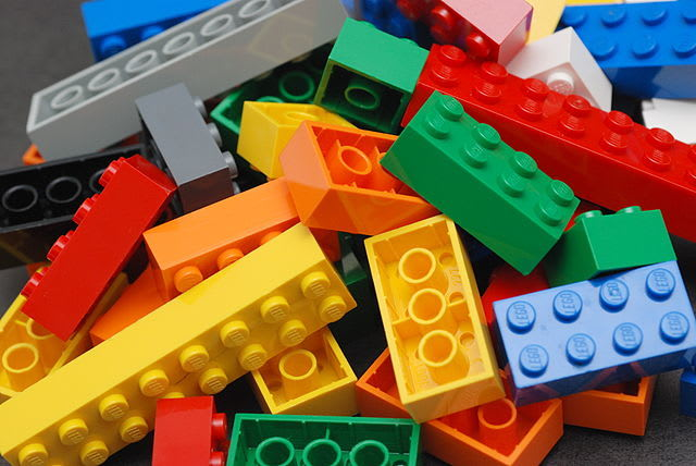 Picture of LEGO bricks