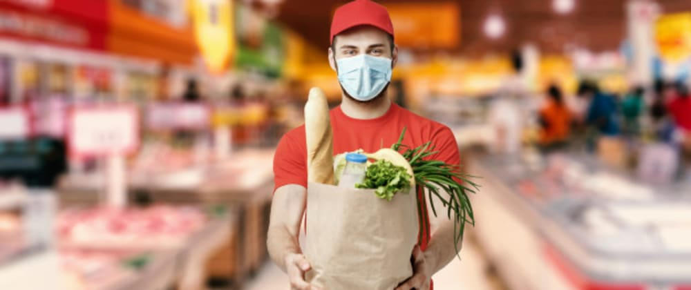 Cover image for Benefits of Online Grocery App Development During Coronavirus (Covid-19) Pandemic.