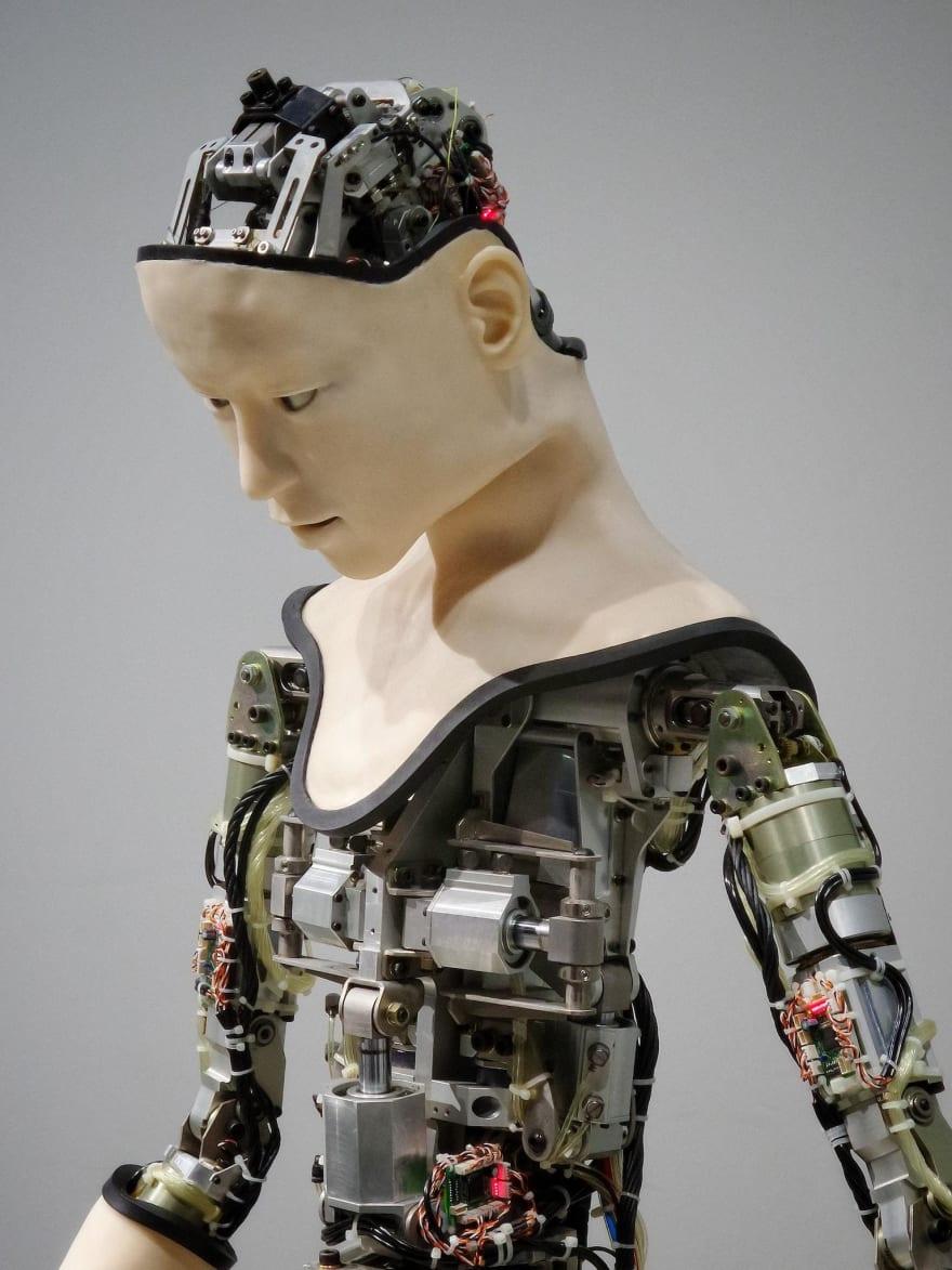 Humanoid robot Photo by Franck V. on Unsplash