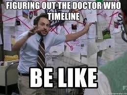 Sometimes timelines do get messy
