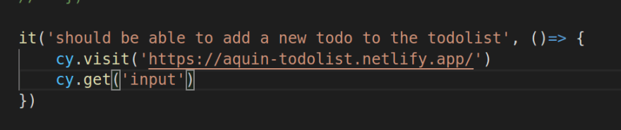 Code with .get(input) command