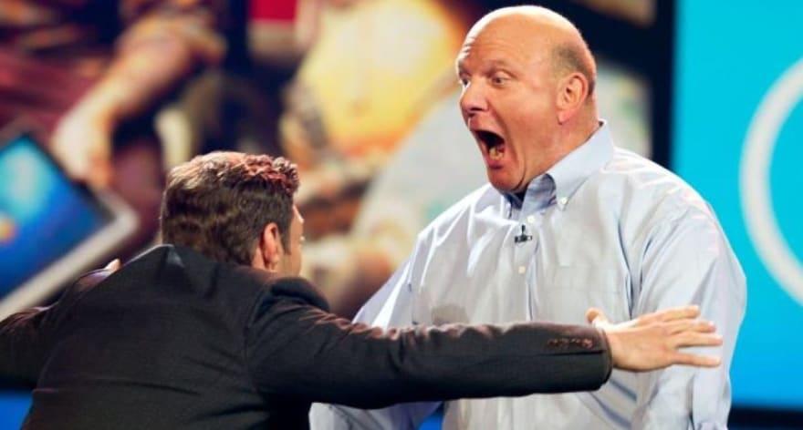 Steve Ballmer Screaming