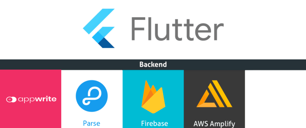 Cover image for Top BAAS (Backend as a service)  for flutter  💙 💙 💙