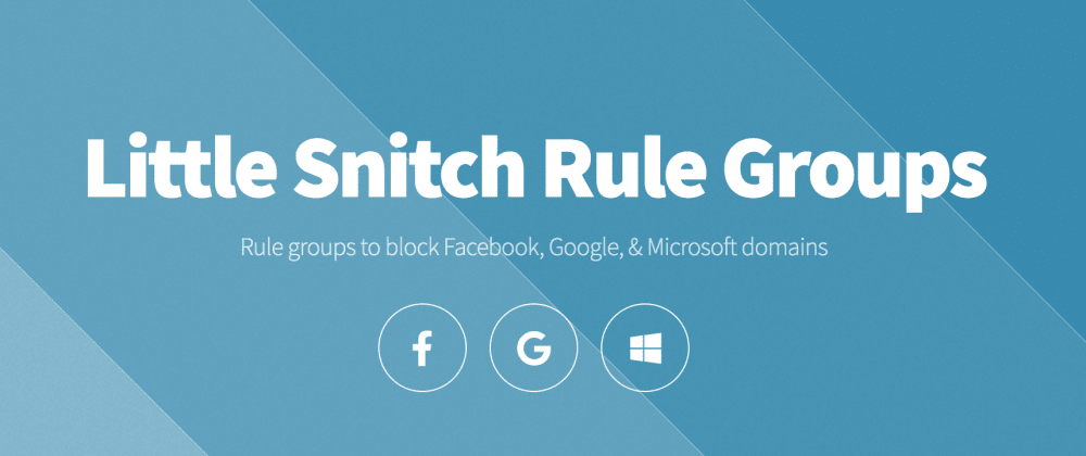 Cover image for 🔒 Rule Groups for LittleSnitch 🔒 A Micro-Product in 6 Hours!