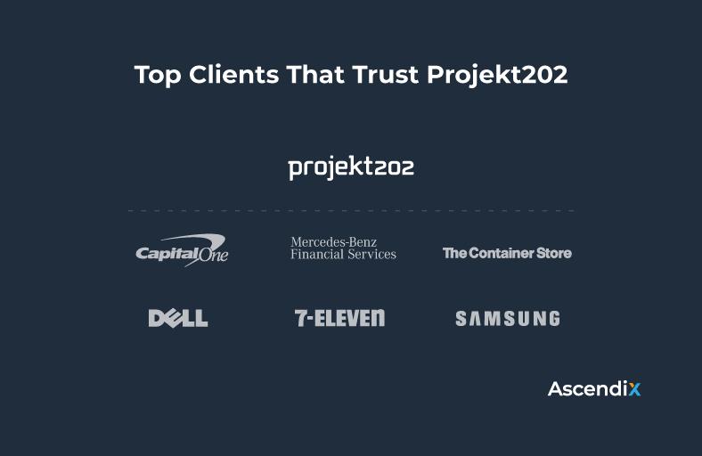 Top Clients That Trust Projekt202