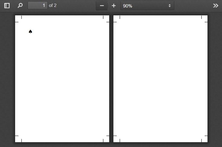 2 Pages, thanks to the named pages CSS property.