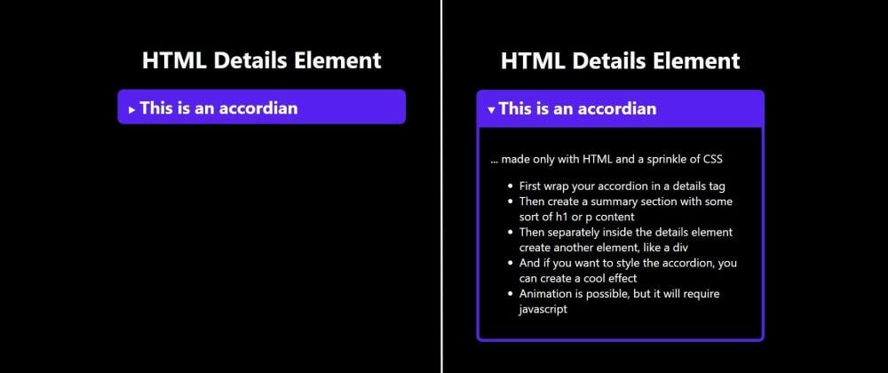 Cover image for TIL - HTML Details