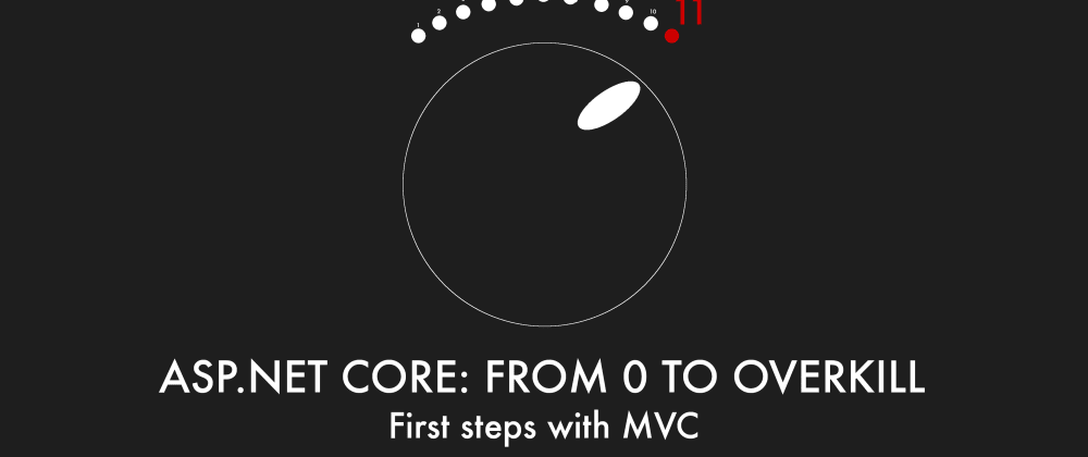 Cover image for Episode 003 - First steps with MVC - ASP.NET Core: From 0 to overkill