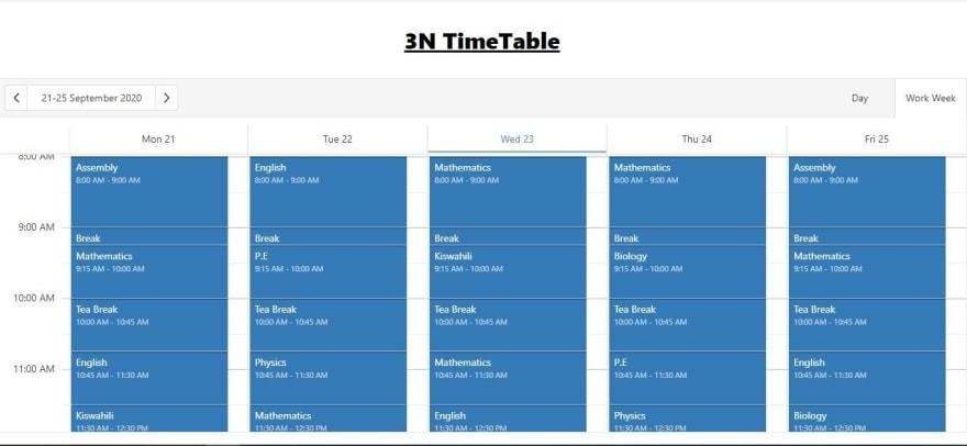 timetable v2