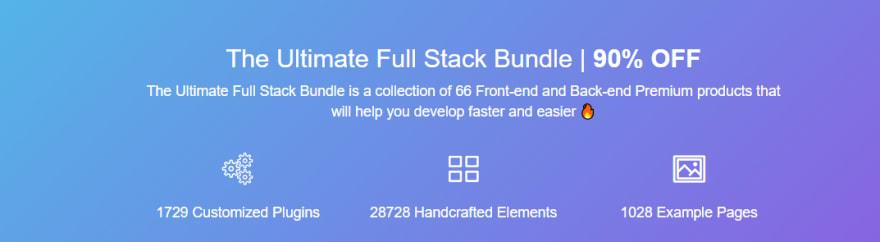 Ultimate Full-Stack Bundle - Creative-Tim