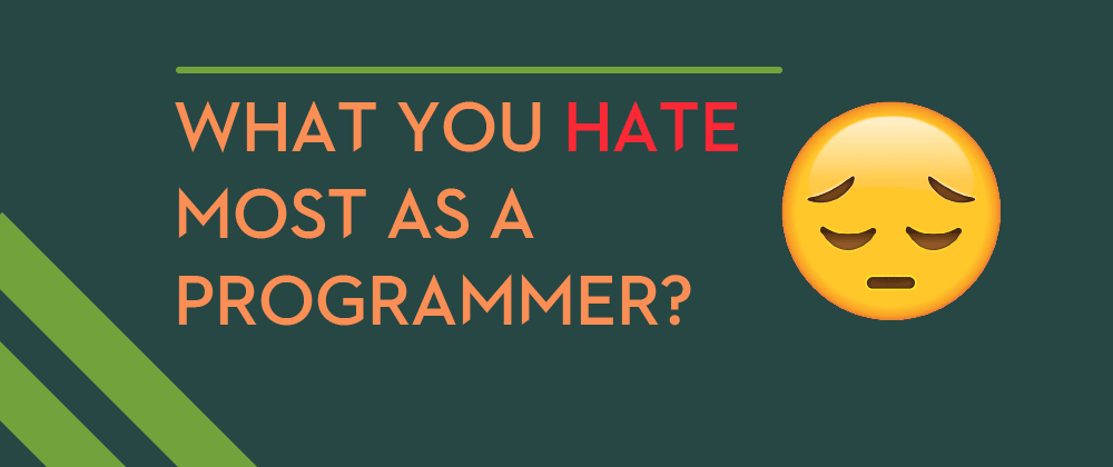 Cover image for What is the nightmare for programmers?