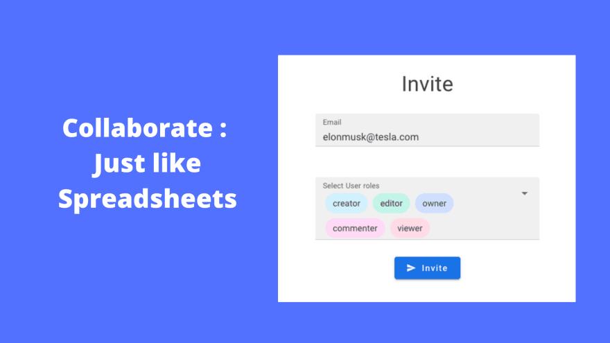 NocoDB: Collaborative spreadsheet