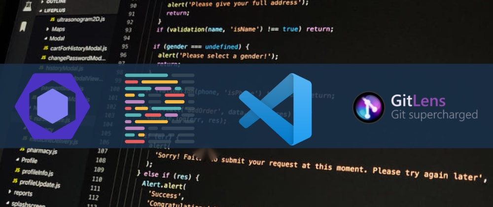 Cover image for Seamless Teamwork in VS Code with ES Lint, Prettier and Git Lens