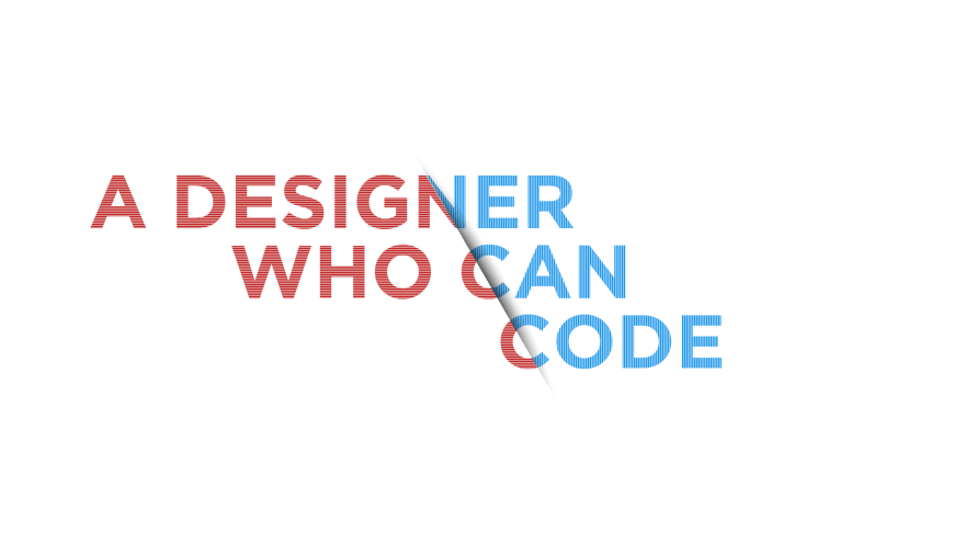 Designer who can code