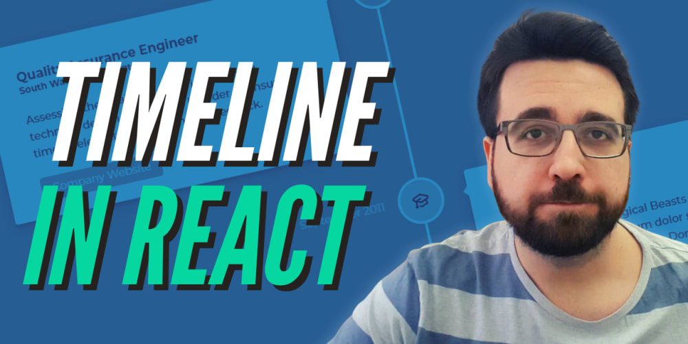 Build Simple Timeline in React