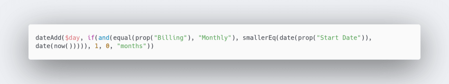 Notion Formula To Calculate Correct Month