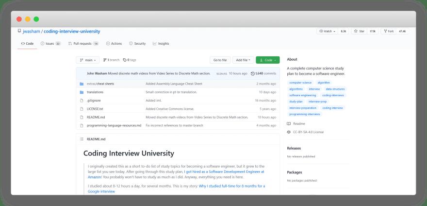 Coding Interview University