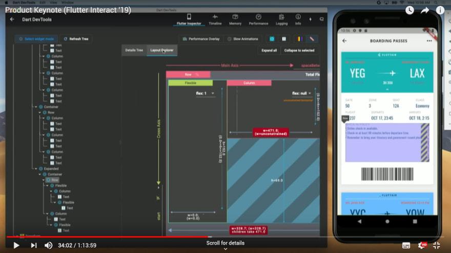 Preview - Flutter layout explorer