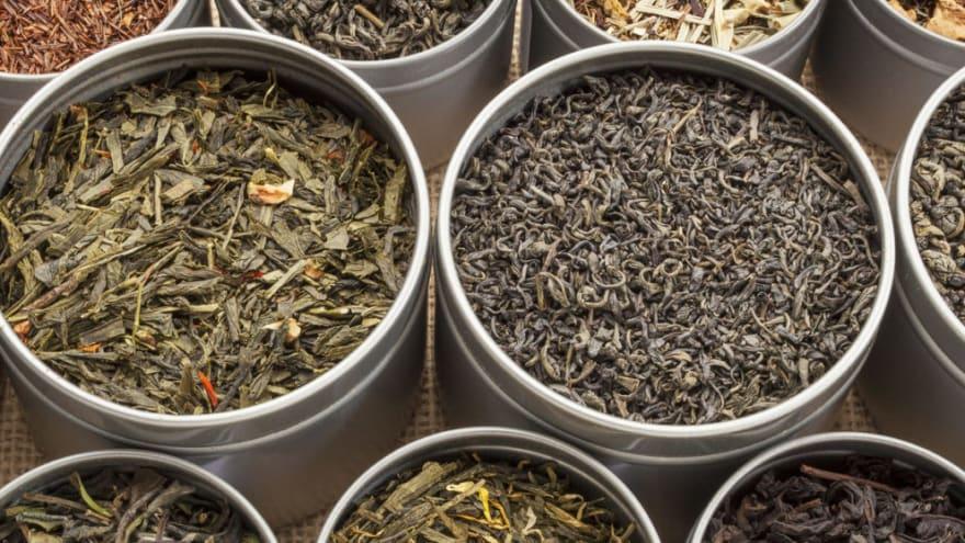 Types of loose leaf tea