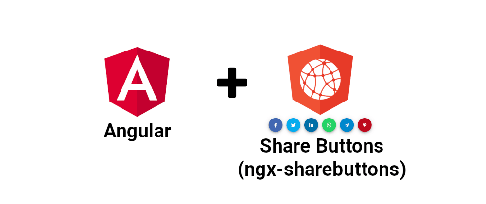 Cover image for Adding the social media share buttons component to an Angular application