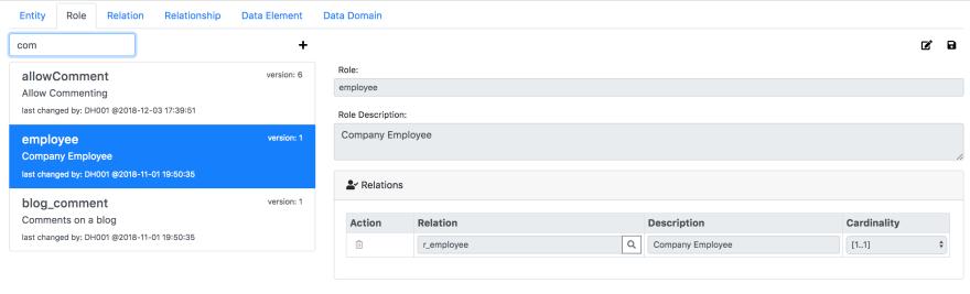 Role: employee