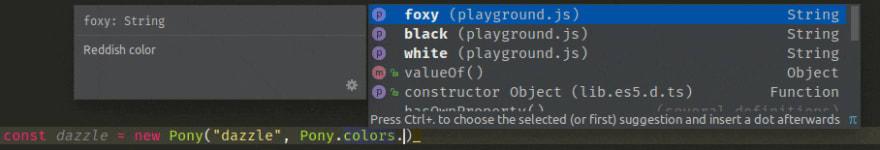 type definition demo