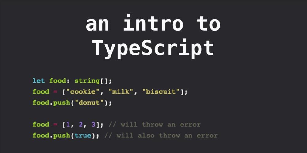 An intro to TypeScript - DEV Community 👩 💻👨 💻