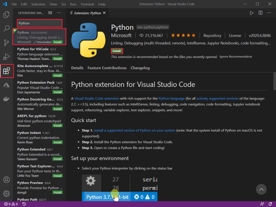 Python Extension