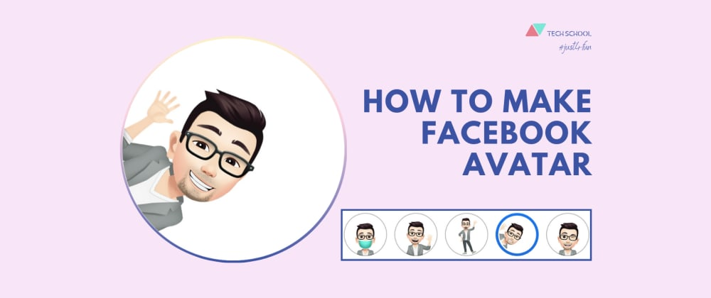 Cover image for How to make your own lookalike Facebook avatar