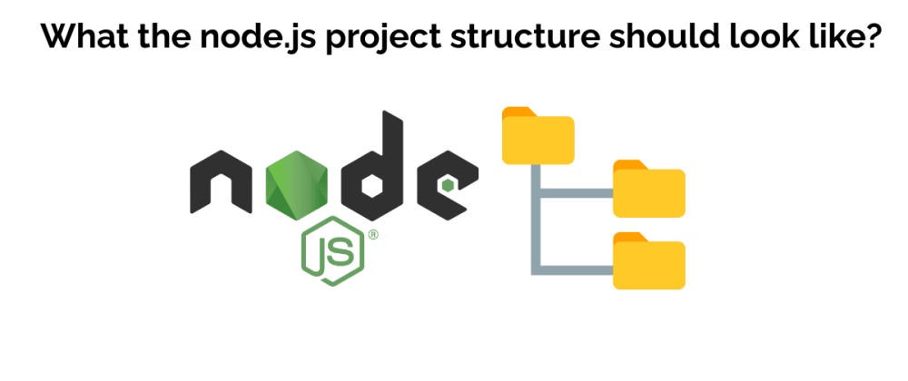 Cover image for What the node.js project structure should look like?