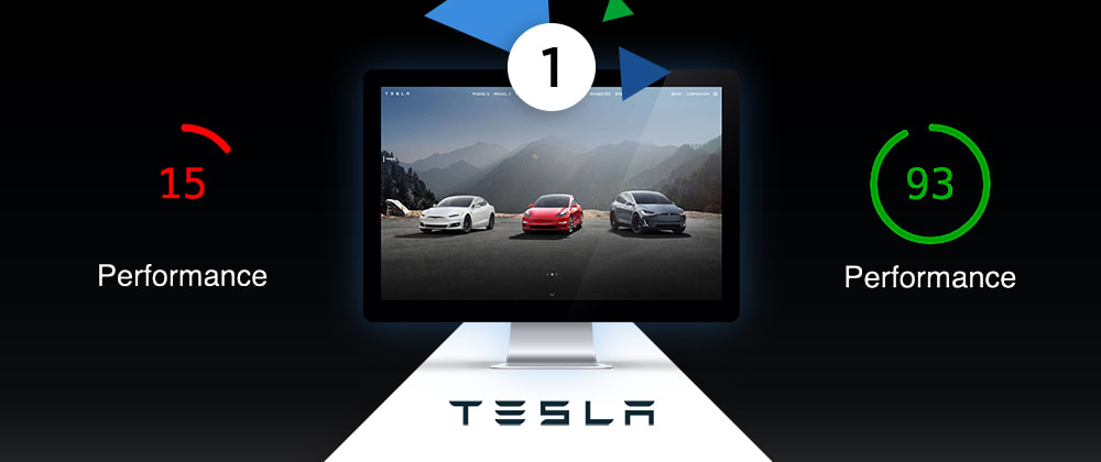 Cover image for Speeding Up Tesla.com - Part 1:  Images and JS Minification