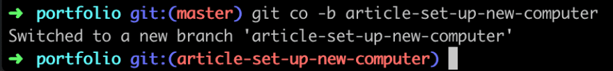 oh-my-zsh config demo