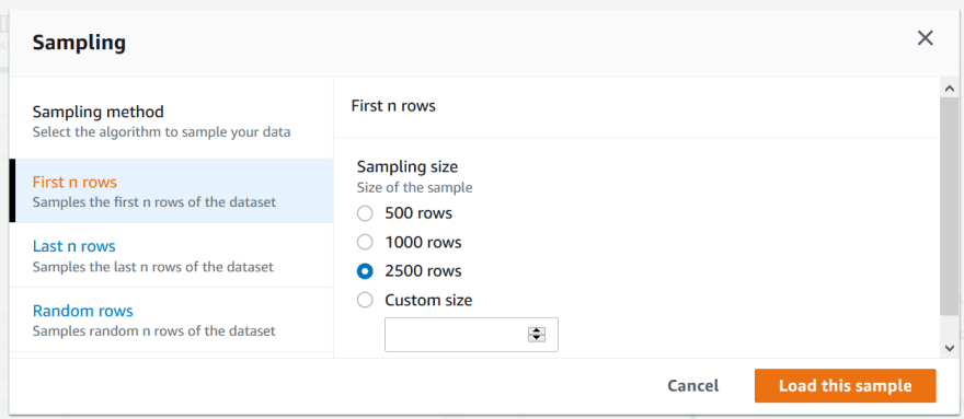 DataBrew Sample