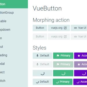 Vue UI Framework