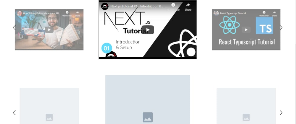 Cover image for React 3D Image Slider