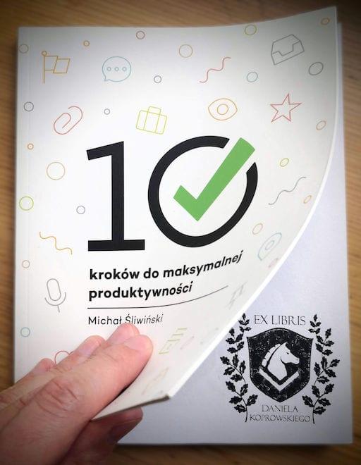 10 Steps to Ultimate Productivity with Daniel Koprowski exlibris - Nozbe GTD