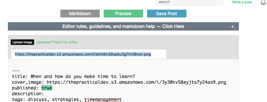 text editor screenshot 4