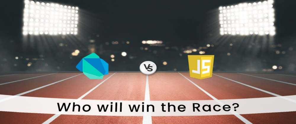 Cover image for JavaScript or Dart: A detailed Comparison on who will win the race