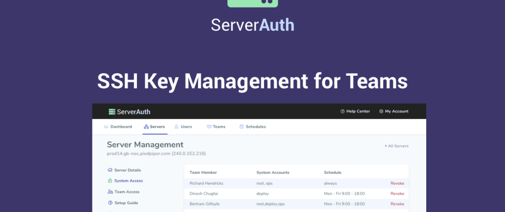 Why you need an SSH Access Manager - Part 2