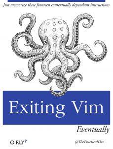 exiting vim