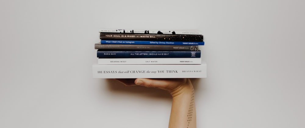 Cover image for 3 Books that will improve you as a Developer