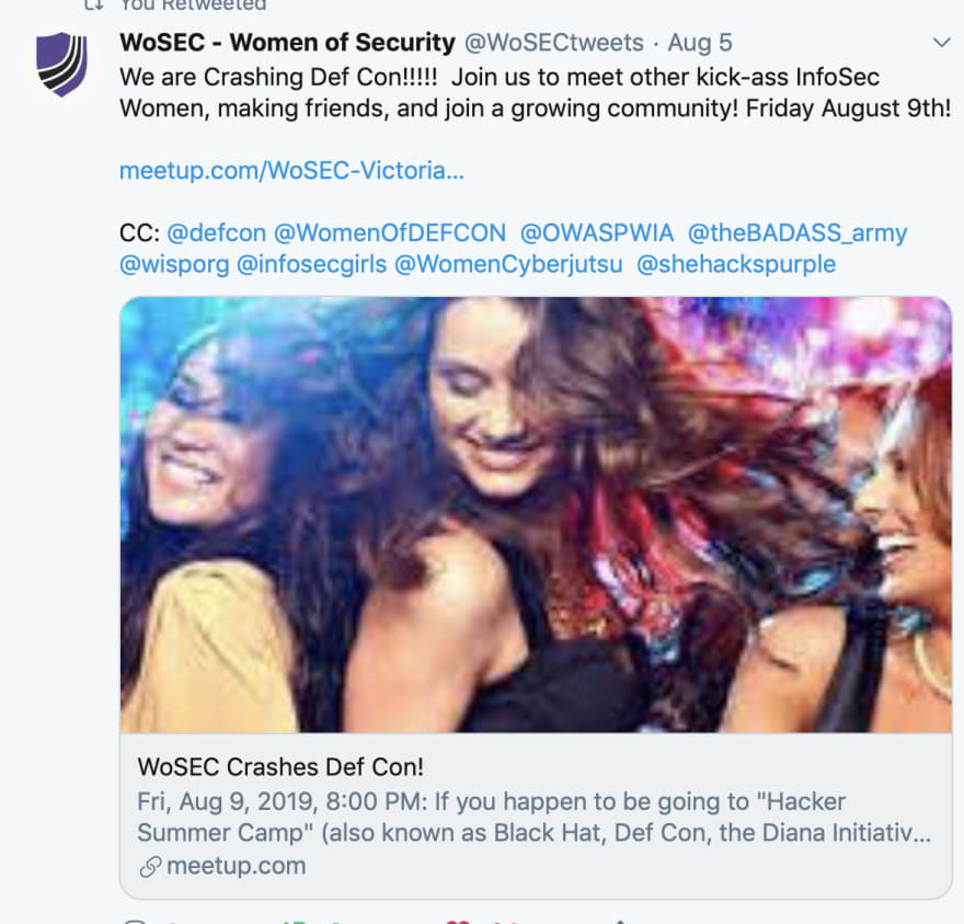 WoSEC Crashes Def Con Event