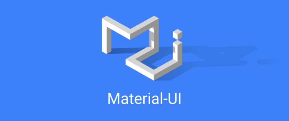 Cover image for Intro to Material-UI