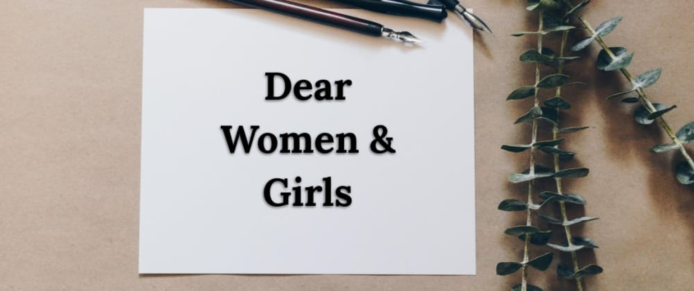 Cover image for Dear Women & Girls