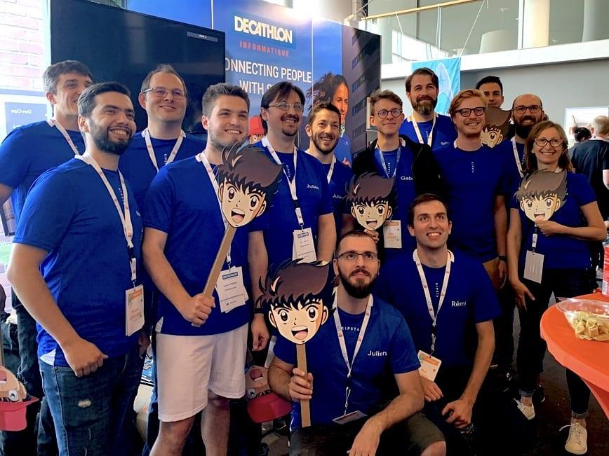 Decathlon Tech team at Devfest Lille 2019
