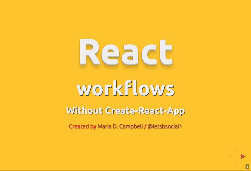 React Workflows