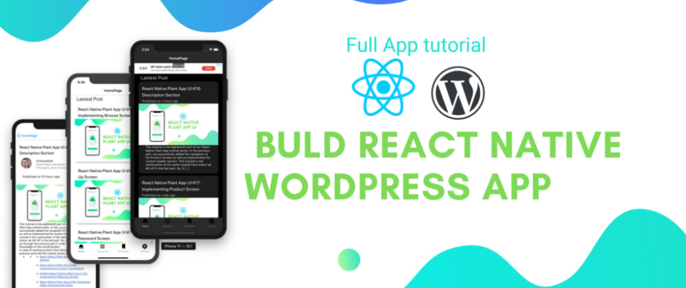 Cover image for Build WordPress App with React Native #6 : Html renderer package and Moment