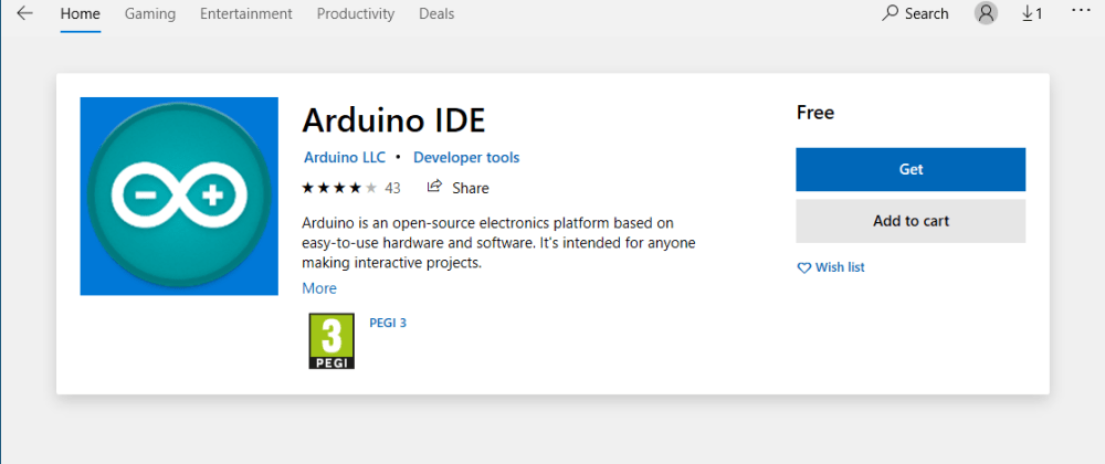 Cover image for theres an ARDUINO IDE for Windows !